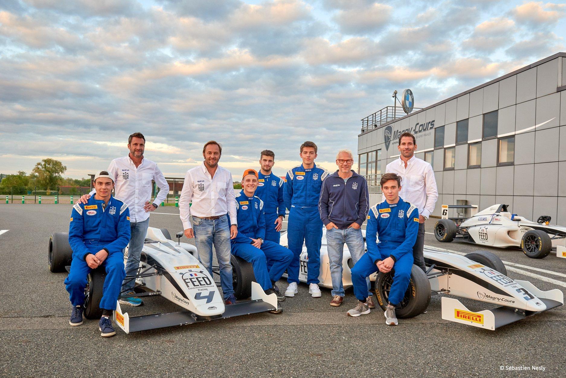Les finalistes 2019 de FEED Racing